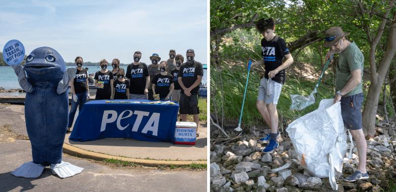 PETA Hosts a Local … 'Fishing' Event?