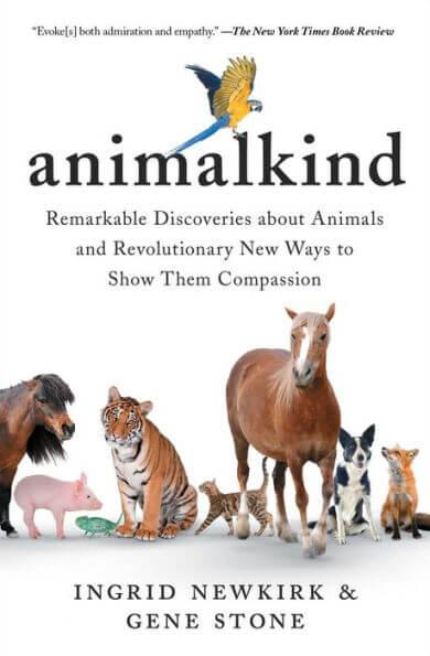 Animalkind for PETA's 2021 summer reading list