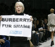 Burberry: Fur Shame