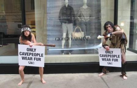 Only Cavepeople Wear Fur