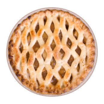 Crapple pie