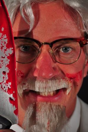 Dan Mathews as Colonel Sanders