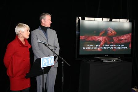 Pink and PETA VP Dan Mathews
