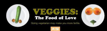 Veggies: the food of love