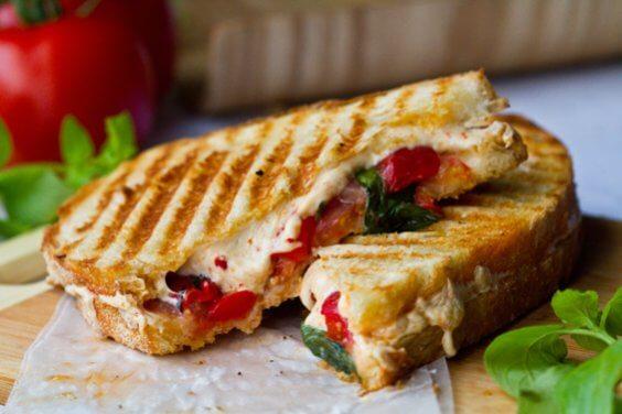 healthy happy life panini