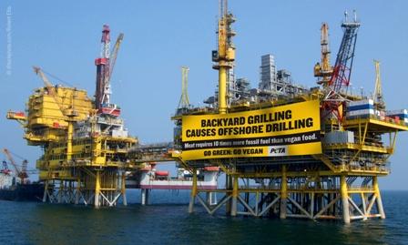 Oil Rig Banner