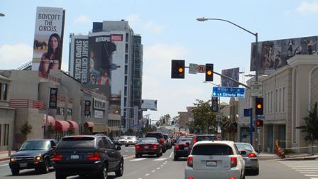 Olivia Munn Sunset Strip