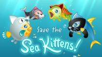 Sea Kittens t-shirt design