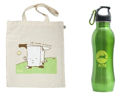Tote and Bottle