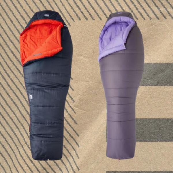 REI Trailbreak synthetic sleeping bags