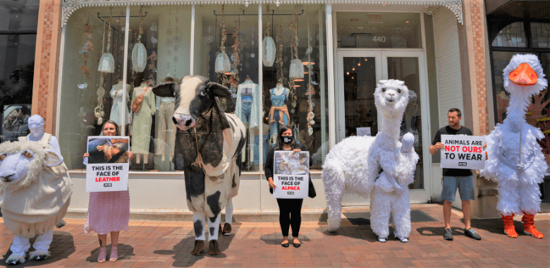 'Animals' Cause Ruckus Outside Urban Outfitters, Inc., Stores