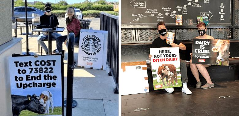 Students Roast Starbucks Over Vegan Milk Upcharge