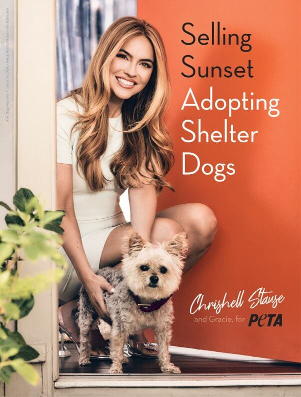 Selling Sunset Adopting Shelter Dogs Chrishell Stause