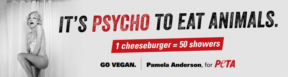 Pamela Anderson: It's Psycho To Eat Animals