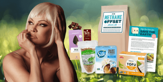 Amid Threat of 'Code Red for Humanity,' Pam Anderson Partners With PETA to Donate 10,000 Methane Offset Kits
