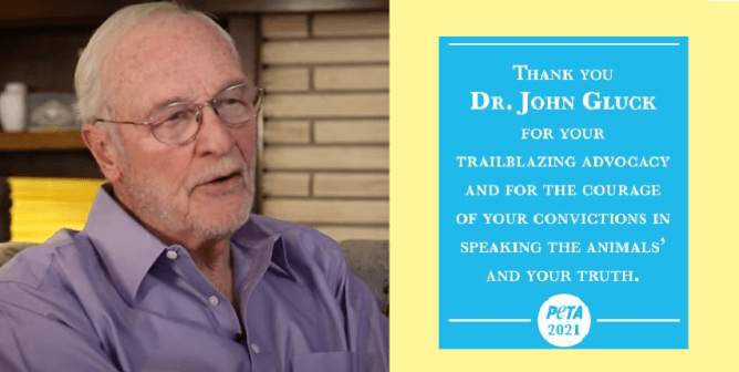PETA Honors Former Animal Experimenter Turned Animal Rights Advocate With a Trailblazing Advocacy Award