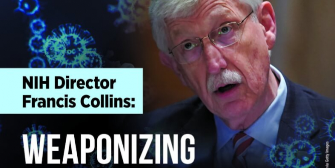 NIH Director Francis Collins: Weaponizing Deadly Viruses That Could Kill Us All