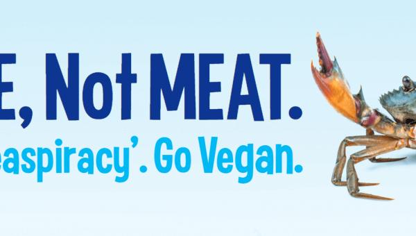 I'm ME, Not MEAT. Watch 'Seaspiracy'. Go Vegan (Crab)