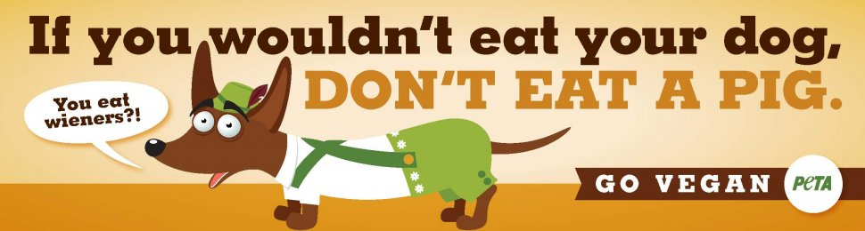 If You Wouldn't Eat Your Dog, Don't Eat A Pig