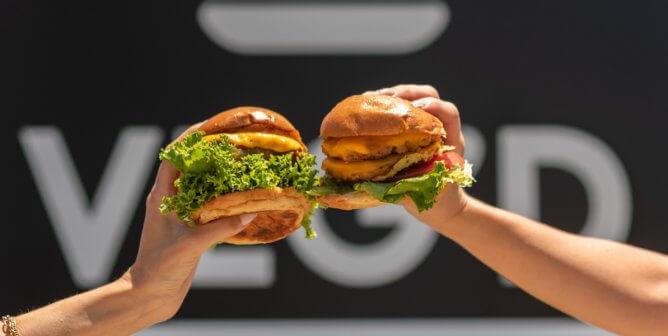 VEG'D Vegan Drive-Through Gives McDonald's a Run for Its Money