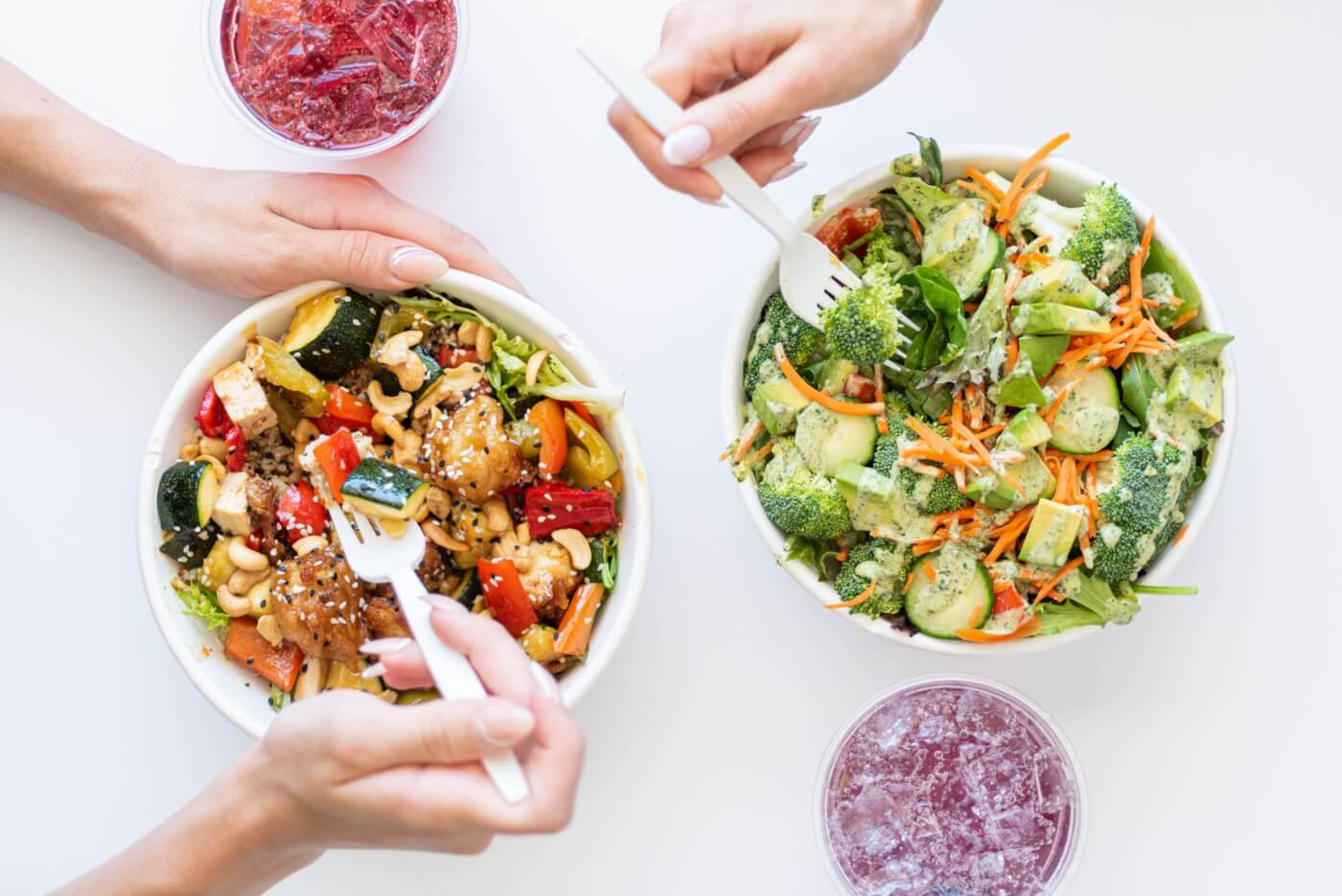 veg'd vegan drive-through veggie bowls