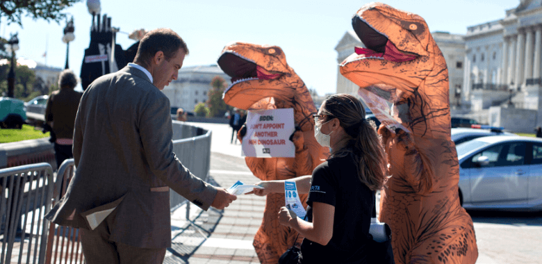 'Dinosaurs' Urge President Biden to Appoint Progressive NIH Director