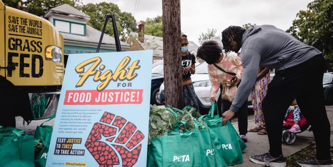 Food Fight: PETA Launches Food Justice Campaign With 'Slutty Vegan' Giveaway